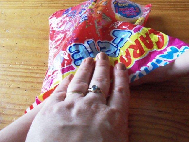 Me Myself an I : LEURS bonbons ! dans les papooses SDC19330